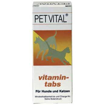 Petvital vitamin-tabs 100g